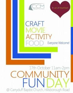 Community Fun Day Flyer